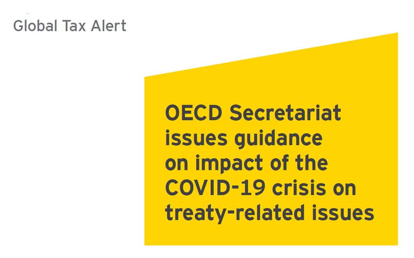 OECD Covid-19 Tax Treaty
