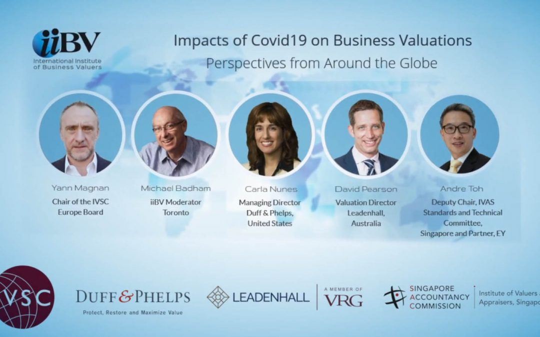 Impact of COVID19 on BV – Global perspectives
